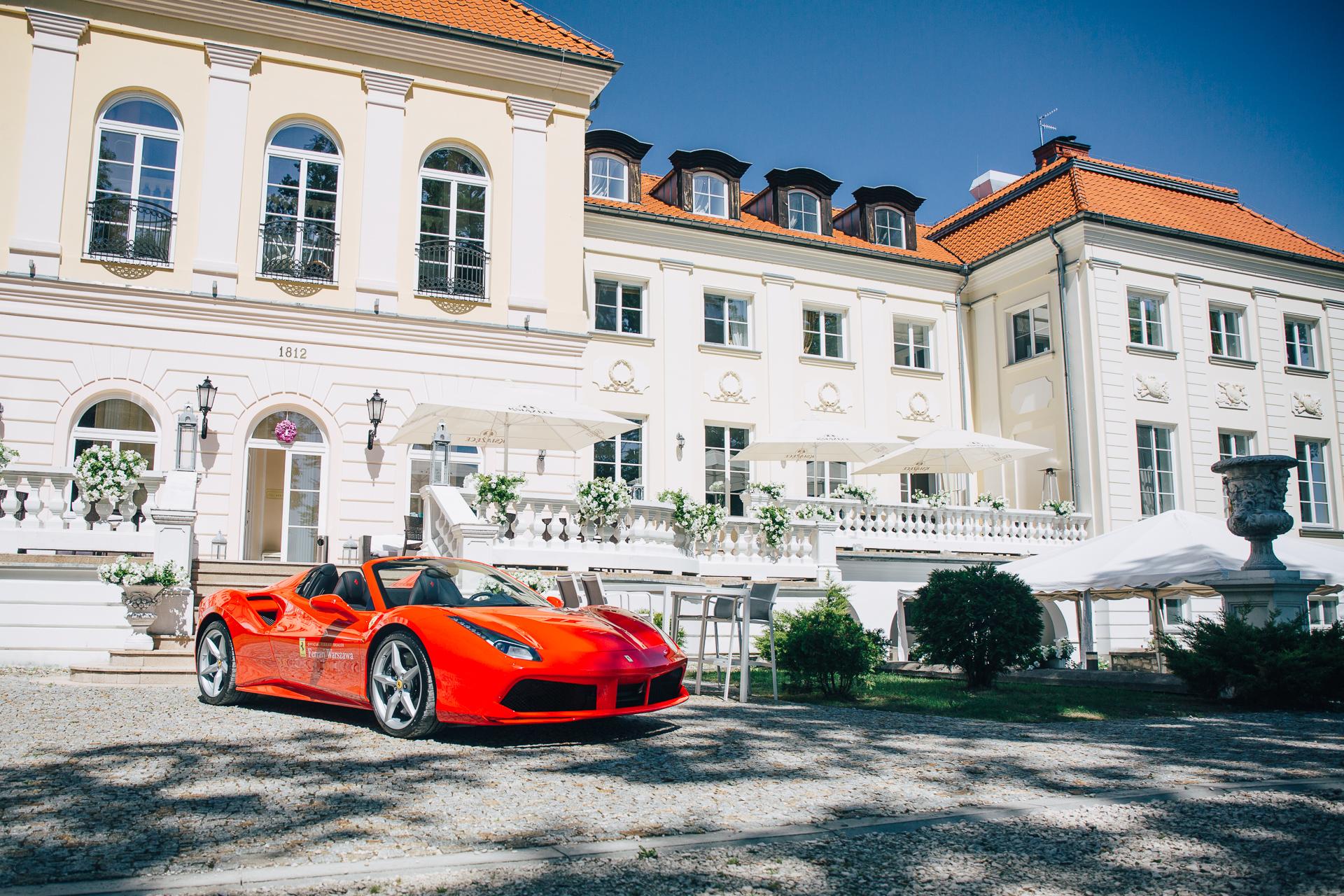 Forza Italia 2018 Ferrari 488 GTB Spider Pałac Alexandrinum